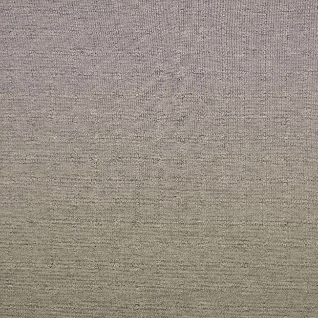 Light Grey Melange Plain Ponte Roma Fabric