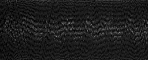Gutermann Natural Cotton Thread 100m - Col 5201 (Black)
