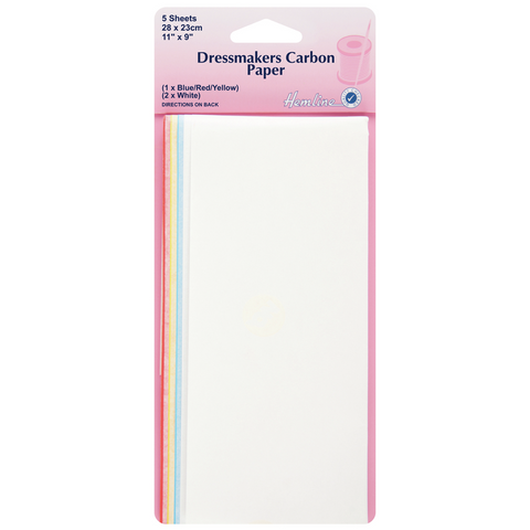 Hemline Dressmakers Carbon Paper Pack