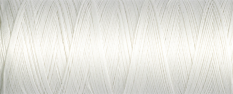 Gutermann Natural Cotton Thread 250m - Col 5709 (White)