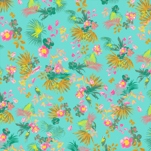 Tropic Brights Printed Viscose Fabric