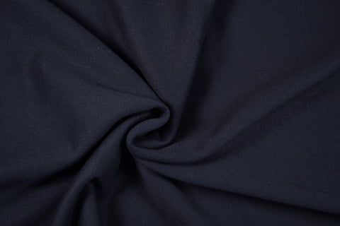 Navy Sweatshirting Fabric