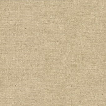 Makower Linen/Cotton Solid Dye - Natural - Linen/Cotton Mix Fabric