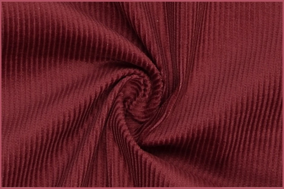 Plain Corduroy - Berry