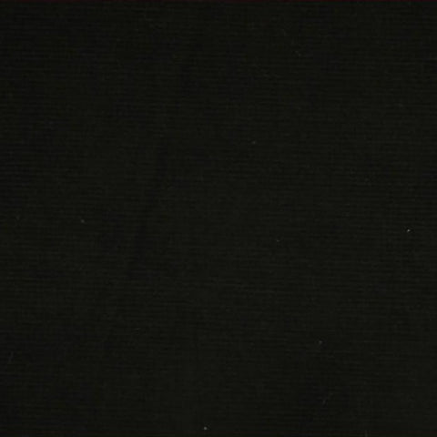 Black Stretch Needlecord Fabric