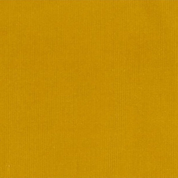 Plain Stretch Needlecord - Mustard