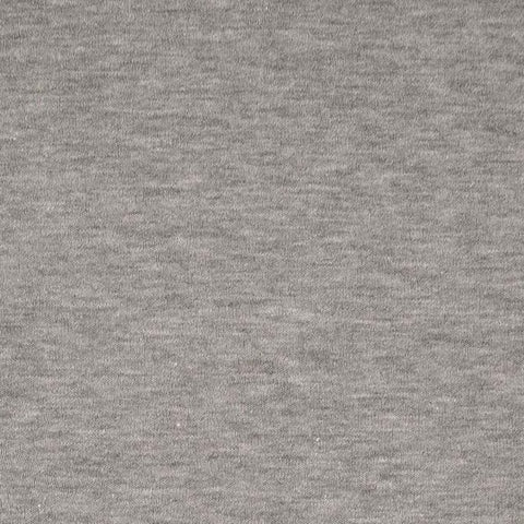 Grey Melange Sweatshirting Fabric