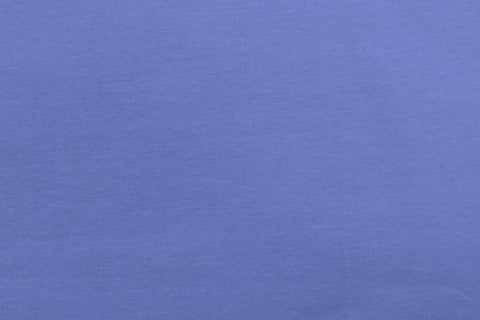 Plain Cornflower Blue Cotton Jersey Fabric