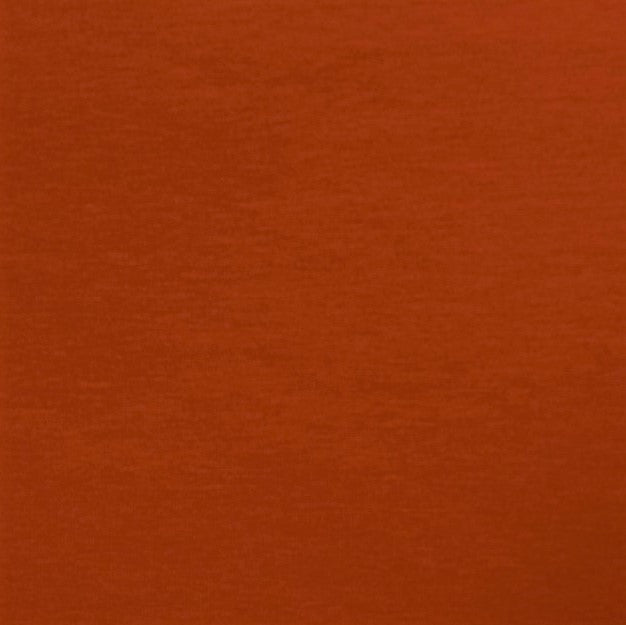 Plain Brick Red Cotton Jersey Fabric