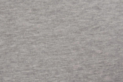 Grey Marl Plain French Terry Fabric