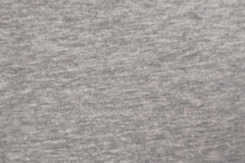 Plain Light Grey Marl Cotton Jersey Fabric