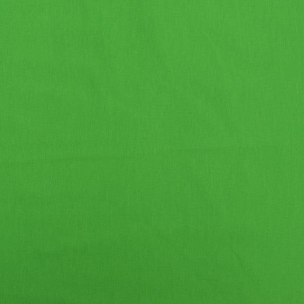 Plain Primary Green Cotton Jersey Fabric