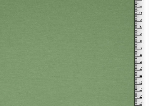 Plain Khaki Cotton Jersey Fabric