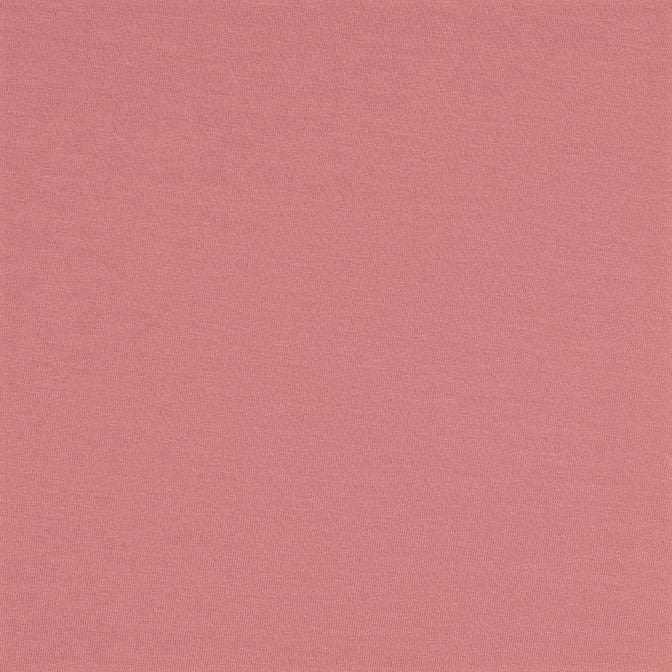 Plain Rose Pink Cotton Jersey Fabric