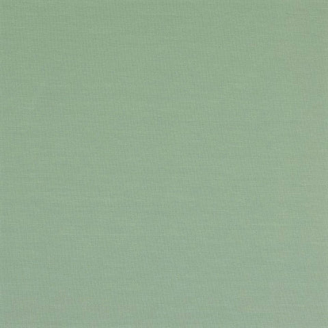 Plain Soft Teal Cotton Jersey Fabric