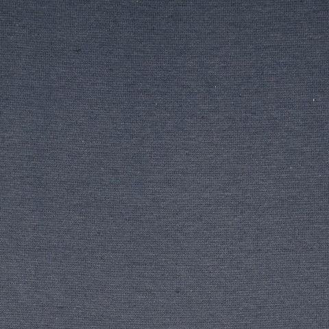 Denim Blue Plain Tubular Rib Jersey Cuffing Fabric