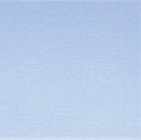 Ice Blue Plain Tubular Rib Jersey Cuffing Fabric