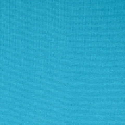 Bright Blue Plain Tubular Rib Jersey Cuffing Fabric