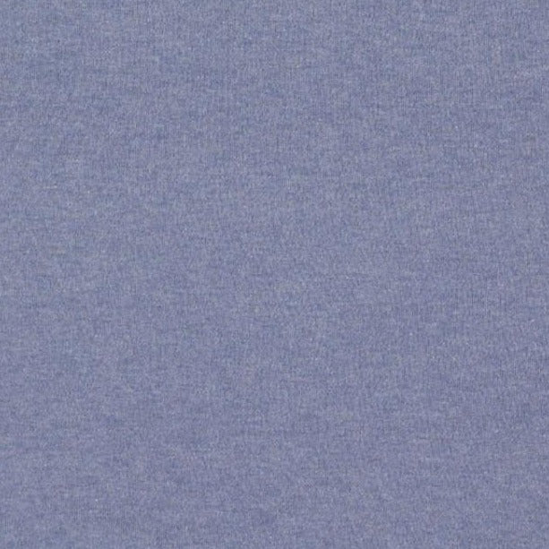 Denim Blue Plain French Terry Fabric