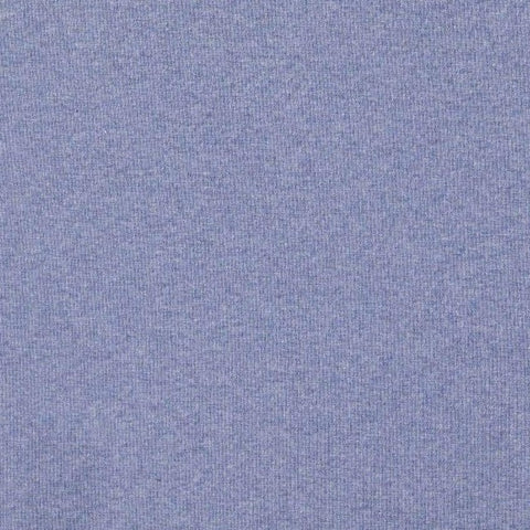 Denim Organic Plain Melange Tubular Ribbing Fabric