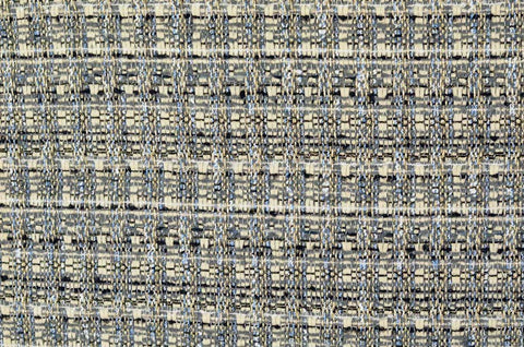 Silver/Black Tweed Fabric