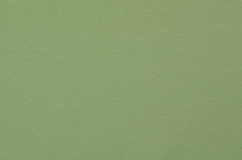 Khaki Plain French Terry Fabric