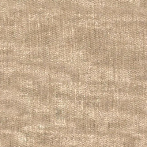 Champagne Metallic Linen Viscose Fabric