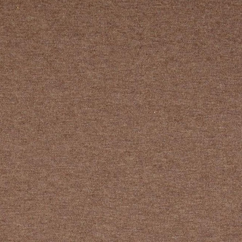 Brown Melange Tubular Rib Jersey Cuffing Fabric