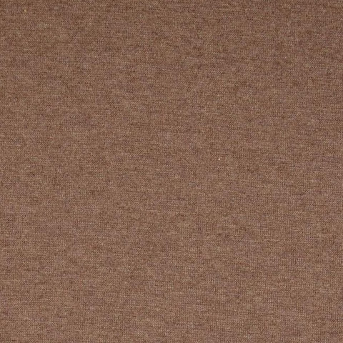 Brown Melange Sweatshirting Fabric