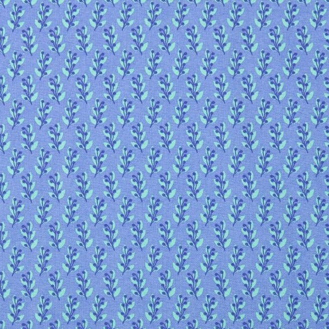 Blue Leaf Organic 100% Cotton Fabric