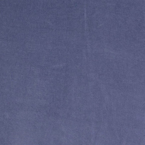 Plain Denim Blue Soft Touch Peachskin Fabric