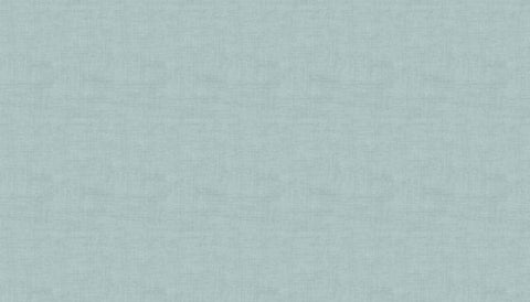 Makower Linen Texture - Duck Egg B4 - 100% Cotton Fabric