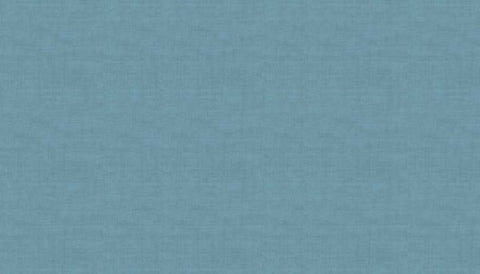 Makower Linen Texture - Chambray Blue B6 - 100% Cotton Fabric