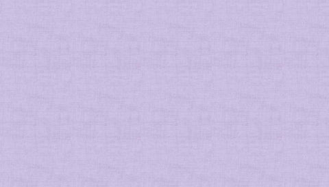 Makower Linen Texture - Lilac - 100% Cotton Fabric