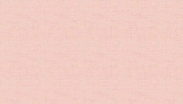 Makower Linen Texture - Pale Pink P1 - 100% Cotton Fabric