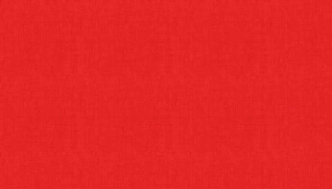Makower Linen Texture - Red - 100% Cotton Fabric