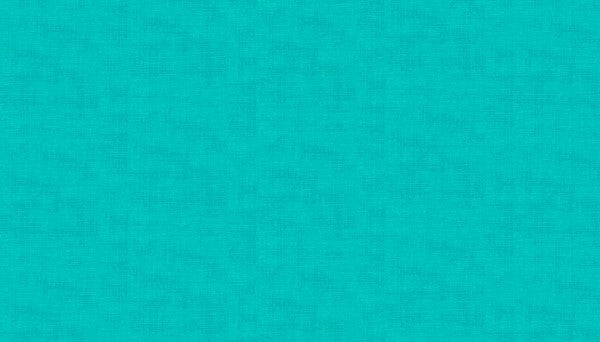 Makower Linen Texture - Aquamarine T3 - 100% Cotton Fabric