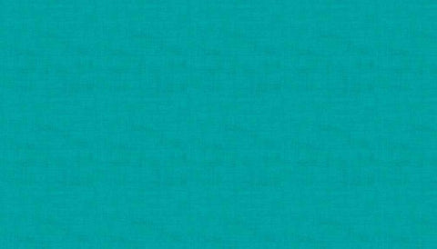Makower Linen Texture - Turquoise T5 - 100% Cotton Fabric