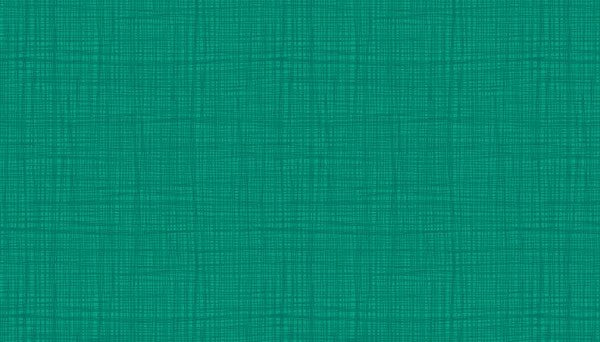 Makower Linea - Teal - 100% Cotton Fabric