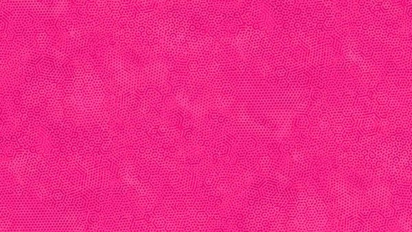 Makower Dimples - Scorching Pink - 100% Cotton Fabric