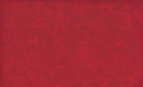Makower Dimples - Crimson - 100% Cotton Fabric