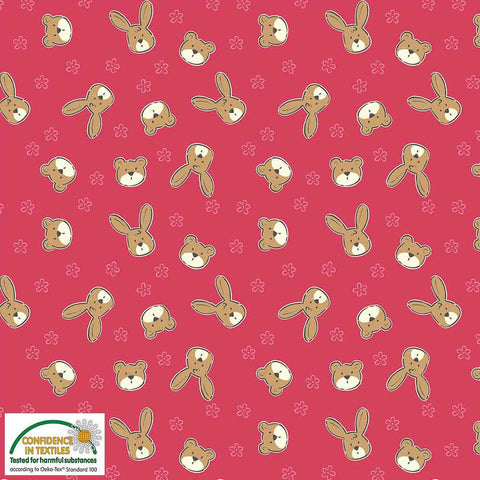 Stof of Denmark Bunnies & Bears Avalana Jersey Fabric