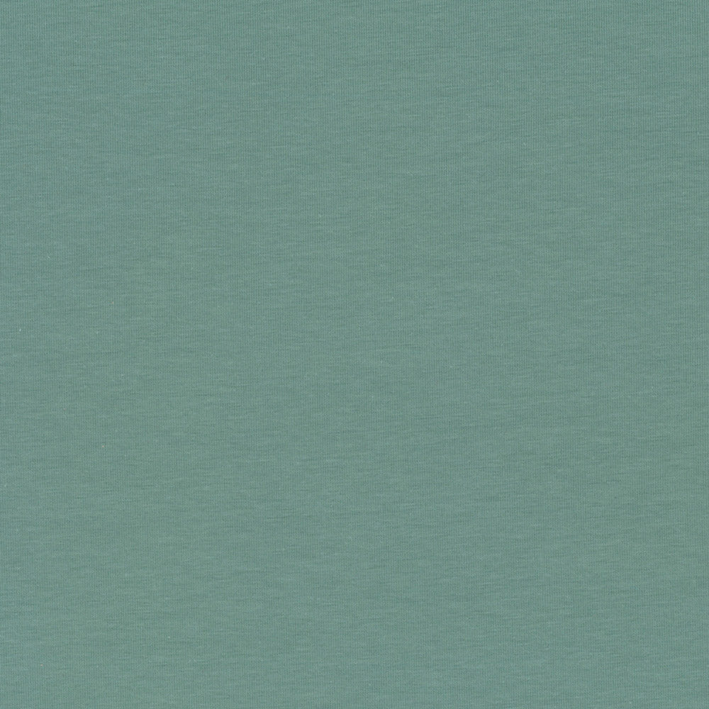 aa6ab459c52 Stof of Denmark Avalana Cotton Jersey Solid - Teal | Jersey Fabric ...