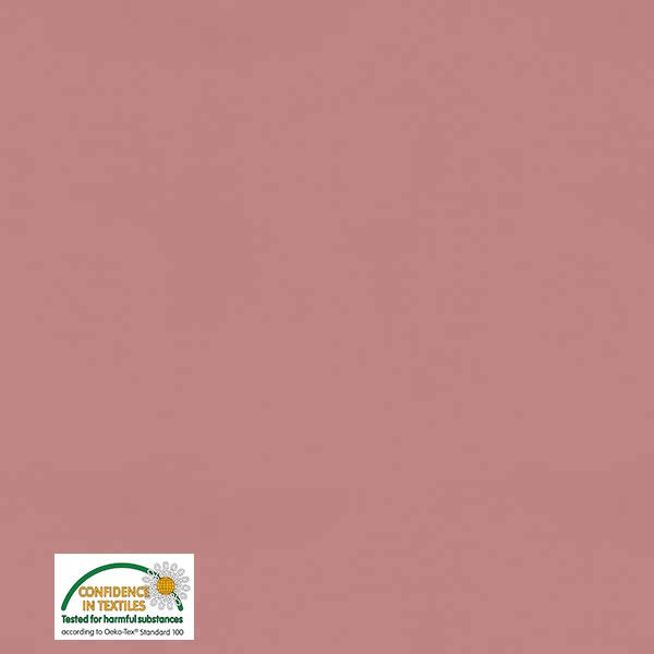 Stof of Denmark Salmon Pink Solid Avalana Jersey Fabric