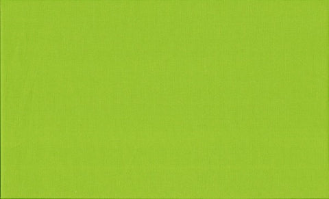 Makower Spectrum - Lime Green G45 Fabric