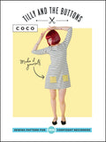 Tilly & The Buttons Sewing Pattern - Coco Dress