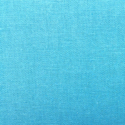 The Craft Cotton Co Homespun - Bright Blue - 100% Cotton Fabric