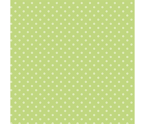 P&B's Basically Hugs - Green Dot - 100% Cotton Fabric