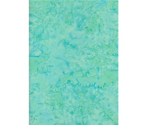 Sew Simple Basic Batiks - 71 Aqua - 100% Cotton Fabric