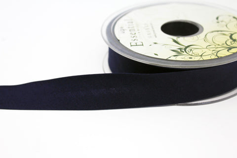 "25mm/1"" Polycotton Bias Binding - Navy"